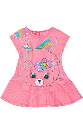 Vestido Bebê Ursinha C1121 - Momi Bebê