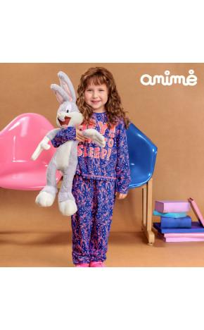 Pijama ML Blusa/Calça Pernalonga N1564 - Animê