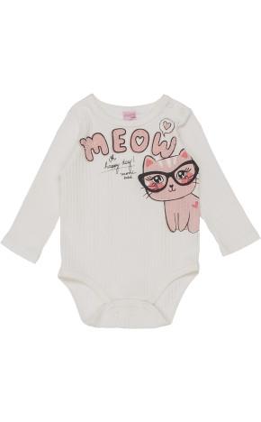 Body Bebê ML Gatinho C0879 - Momi Bebê