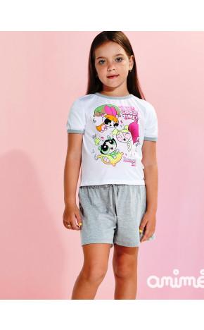 Pijama Meninas Super Poderosas N1679 - Animê