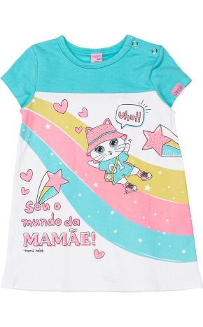 Vestido Bebê Gatinha C1174 - Momi bebê