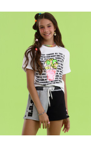 Shorts Bicolor 18.19.13034 - Vanilla Cream