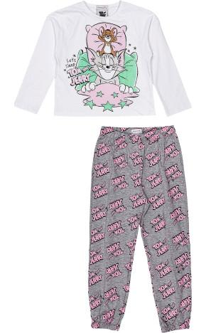 Pijama ML Blusa/Calça H3116 - Momi
