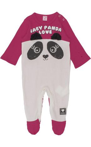 Macacão Bebê ML Panda C0864 - Momi Bebê