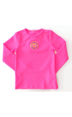 Blusa de Praia Kids Rosa Neon Q0310 - Animê