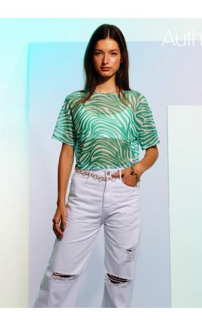 T-Shirt Tule Zebra T7777 - Authoria