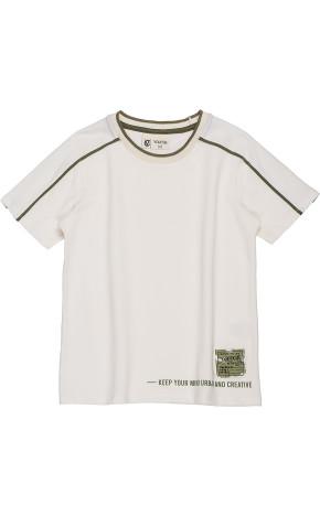 T-Shirt Piquet Com Retilínea D0149 - Youccie