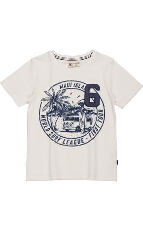 T-Shirt Piquet Off White D0200 - Youccie