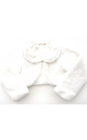 Casaco de Pele Com Gola 11.12.45002 - Petit Cherie