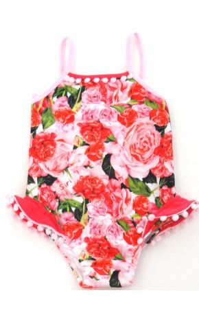 Maiô Baby Clara Floral 32037 - Siri