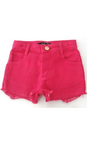 Short Sarja Pink P3168 - Animê Petite