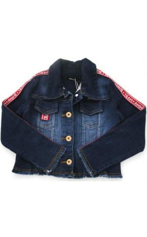 Jaqueta Jeans Cadarço P3385 - Animê Petite