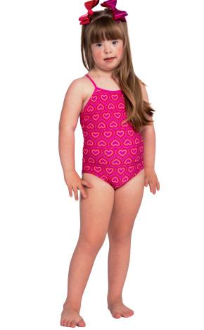 Maiô Kids Bela Coração 36904 - Siri
