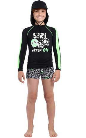 Blusa Kids Igor Skeleton 36972 - Siri
