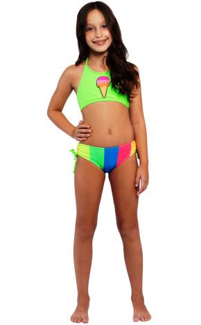 Biquíni Kids Cropped Tamy Sorvete 36896 - Siri