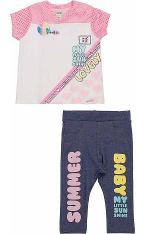 Conjunto Bebê Blusa e Legging L1403 - Animê Bebê
