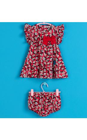 Vestido Bebê Mônica 21.18.80006 - Mon Sucré Baby
