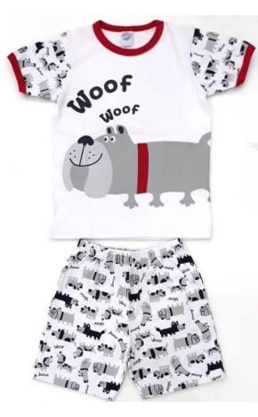 Pijama Curto Woof 40106 - Piu Piu