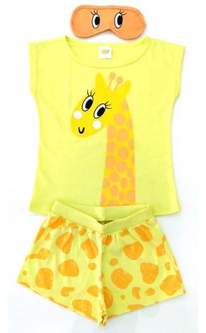Pijama Girafa Amarelo 24724/A - Have Fun