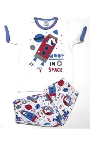 Pijama Com Calça Bebê 4174/A - Piu Piu