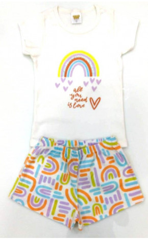 Pijama Arco Iris Off White 25057 - Have Fun