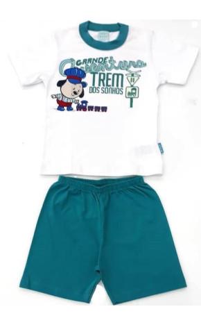 Pijama Curto Trenzinho  105859 - Kyly