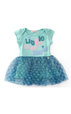 Vestido Bebê Litle Mermaid 19.17.31058 - Mon Sucré Baby