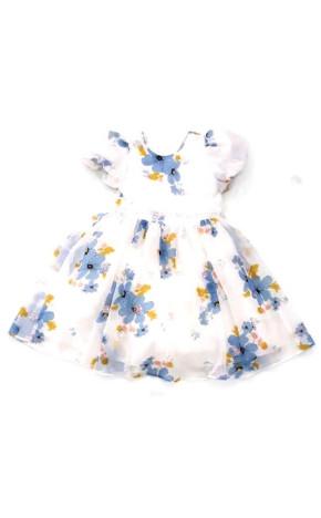 Vestido Festa Flores e Paetês 11.17.31200 - Petit Cherie